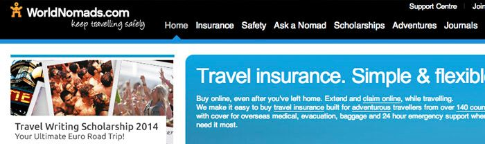 why World Nomads offers the best travel insurance