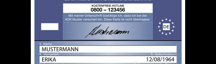 Ehic Karte.What S The Deal With The European Health Insurance Card